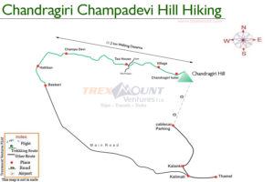 chandragiri champadevi hill map